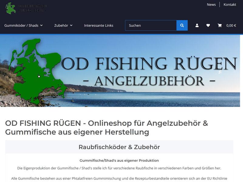 od fishing rügen